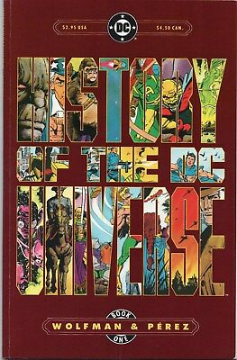 History of The DC Universe #1 (1986 DC) by Wolfman & Perez! NM *NICE!!*