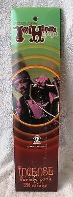 Brand-New - 2002 -Jimi Hendrix - Authentic Hendrix Incense - Great Gift Item!!