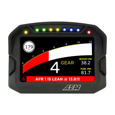 30-5602 Aem Cd-5G Carbon Digital Racing Dash Display Kit With Gps