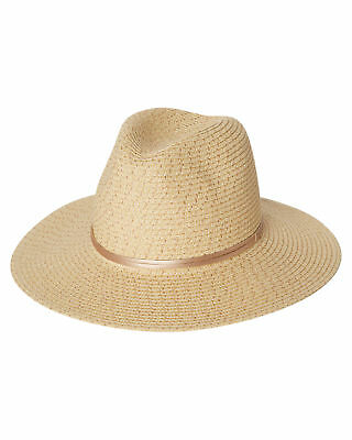 New Rusty Women's Gisele Straw Hat Natural