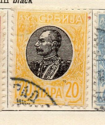Serbia 1904-05 Early Issue Fine Used 20pa. 265404