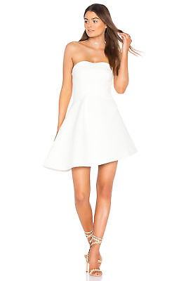 b19a75008a5 New  175 Keepsake dress M Revolve Nordstrom ivory Lights Out Mini strapless  WOW!