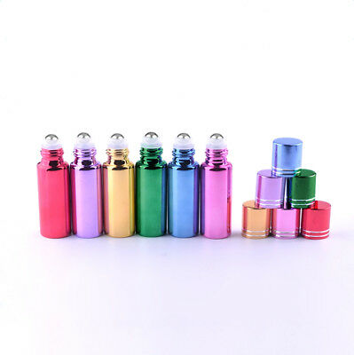 1/10/20/30PC Travel Roller Refillable Bottle Essential Oil Roll-on Glass Perfume