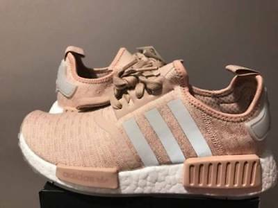 c801cee09 Adidas NMD R1 Runner W Nomad Women s Ash Pearl Chalk Pink 3M White CQ2012  Boost