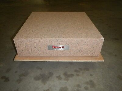 "Starrett 24"" x 24"" x 6"" Granite Surface Plate Grade A *Light damage"