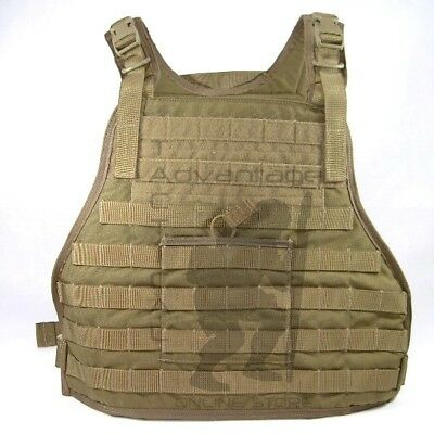 Eagle Industries MOLLE LE Armor Plate Carrier - coyote 1000D LG/XL - US MADE!