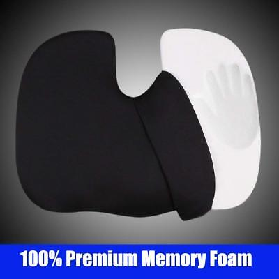 PIC AUTO Large Car Seat Cushion for Sciatica Back Pain, Memory Foam Coccyx