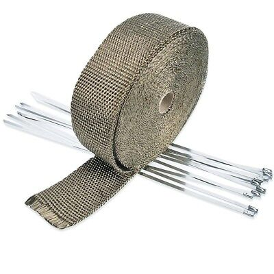 Wrap Exhaust Manifold Insulating Tape /  10 Meters/5cm/1.5mm   Gray / For
