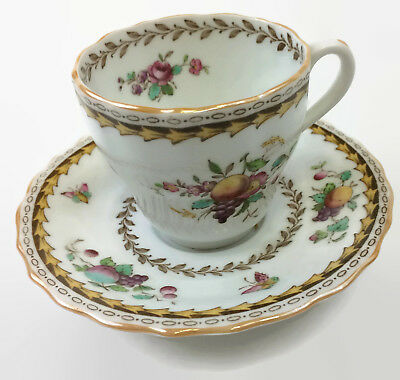 Copeland Spode Rockingham Cup and Saucer Set Fine China Made in England