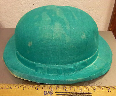 vintage Gauze green DERBY Halloween hat from the 1940s, UNIQUE item!!