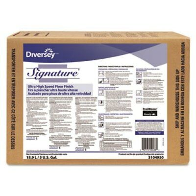 Diversey 5104950 Signature UHS Floor Finish, Liquid, 5 gal Bib