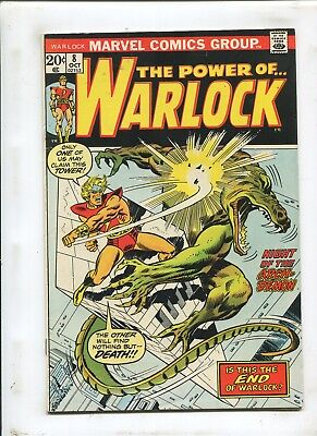 Warlock #8 - Night Of The Arch-Demon! - (7.0) 1973