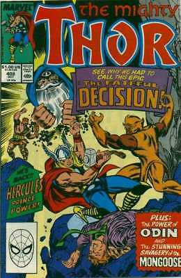 Thor (1966 series) #408 in Very Fine minus condition. Marvel comics