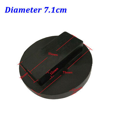 71mm Car Accessories Black Rubber Jack Pad Adapter Protector For BMW MINI Coupe