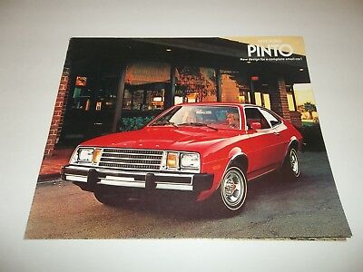 1979 FORD PINTO BROCHURE sedan squire wagon runabout