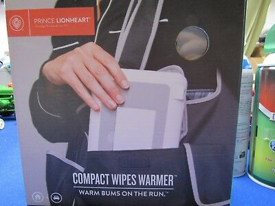 Prince Lionheart Compact Wipes Warmer, white Warms Buns on the Run