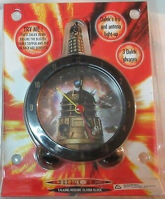 Doctor Who Dalek Alarm Clock and Dalek t-shirt (large only)