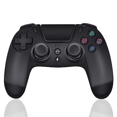 Bluetooth Wireless Controller Gamepad Für PS4 PlayStation 4 Joystick Schwarz Neu