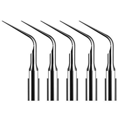 10X Dental Ultrasonic Scaler Periodontics Tip Fit Satelec DTE Handpiece, 5 pcs
