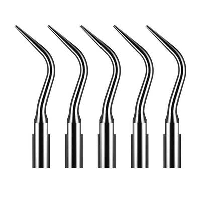10P Dental Ultrasonic Scaler Periodontics Tip Fit Satelec DTE Handpiece, 5 pcs