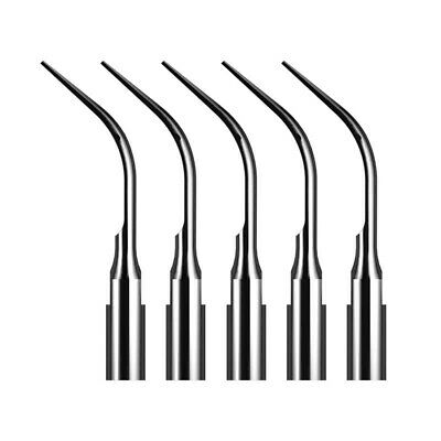 1-S Dental Ultrasonic Scaler Scaling Insert Tip Fit Satelec DTE Handpiece, 5pcs