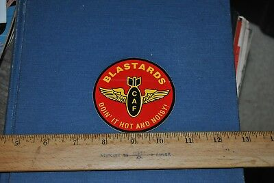 Blastards Decal / Sticker CAF Confederate Air Force