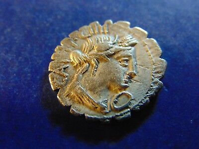 C.marius Denarius Rome Mint Ceres And Ploughman Very Nice Coin