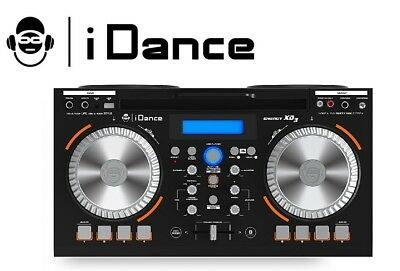 iDance XD3 Bluetooth Speaker Party Box MP3 USB Stereo FM Radio DJ Mixer Disco