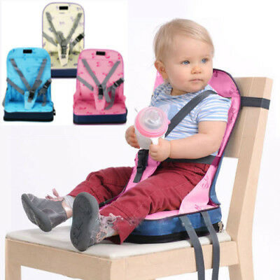 Portable Travel Foldable Baby Infants Dining Chair Booster Seat Harness HOT