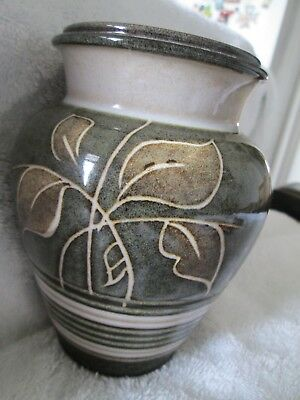 Denby Vase 13 Cm Tall Green 450 Picclick Uk