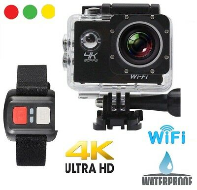GOPRO 16MP Pro Cam 4K SPORT WIFI ACTION CAMERA ULTRA HD VIDEOCAMERA SUBACQUEA