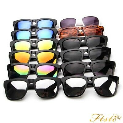 unisex women men vintage retro mirrored sunglasses 100% UV protection