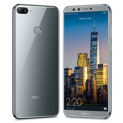 Neuf HUAWEI Honor 9 Lite 4G Téléphone 18:9 full-screen Android 8core 32GO 4*Cams