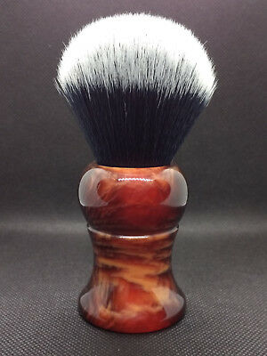 yaqi shaving brush synthetic tuxedo 28mm high quality large good for lathering