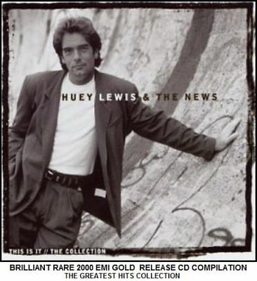 Huey Lewis & The News Very Best Greatest Hits Collection - RARE 80's Rock Pop CD