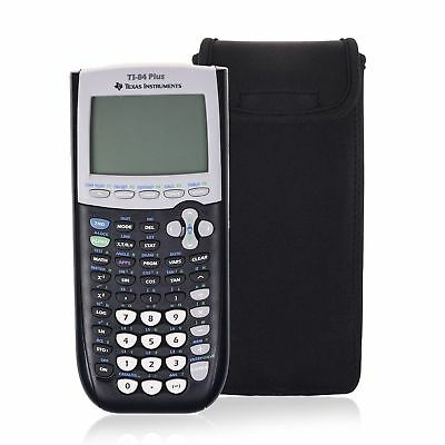 TI 84 85 Plus Graphing Calculator (!travel Case!) Texas Instruments Inner Pocket