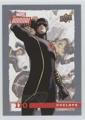 2016 Upper Deck Marvel Annual #110 SP Cyclops Non-Sports Card 1md