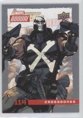 2016 Upper Deck Marvel Annual #114 SP Crossbones Non-Sports Card 1md