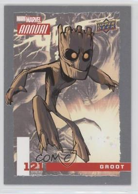 2016 Upper Deck Marvel Annual #121 SP Groot Non-Sports Card 1md