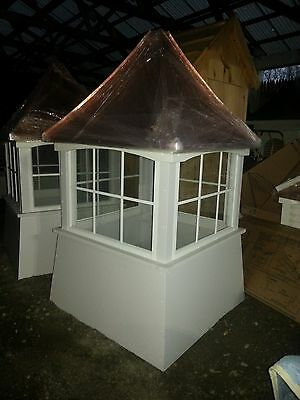 48'' vinyl window Cupola /(1)----Beautiful and high quality AS SHOWN IN STOCK !
