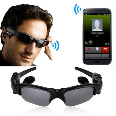 Wireless BT SunGlasses Polarized Eyeglasses With Headphone Handfree For Phone