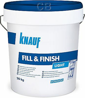 Knauf SHEETROCK Fill&Finish Light 20kg Spachtelmasse Trockenbau Fugenspachtel