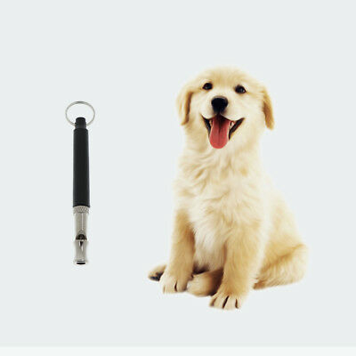 2Pcs Pet Dog Barking Deterrent Whistle Dog Adjustable Training Whistle