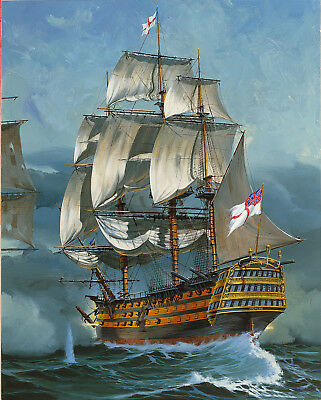 "REVELL 5408 - englisches Segelschiff "" H.M.S. Victory ""  Lord Nelson 1/225"