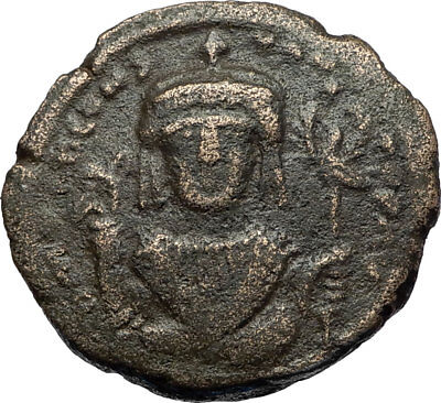 TIBERIUS II CONSTANTINE Authentic Ancient 578AD Follis Byzantine Coin i71149