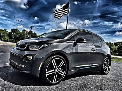 BMW i3 TECH AND DRIVER ASSIST 1 OWNER NAV XM $47K NEW MEGA*TECH*DRIVER ASSIST*1 OWNER*CARFAX CERT*WARRANTY*BOOKS, KEYS, CHARGER*FLA