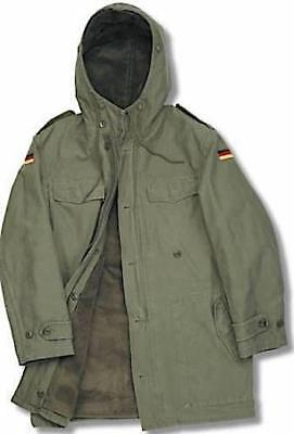 "German Military Nato Parka   - Olive Green Sizes - Uk 34""- Uk 56"""