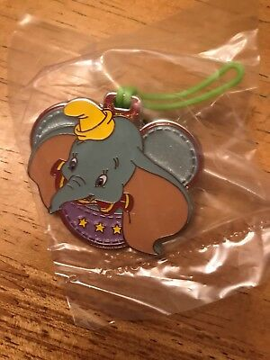 Dumbo Hong Kong Disneyland Luggage Tag Mystery Pin - Brand New in Packaging!!