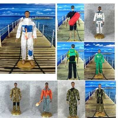 Handsome Uniform Model Military Army Suit for 1/6 Soldier Doll Kids DIY Toys