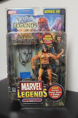 Marvel Legends series VII WEAPON X WOLVERINE in sealed package